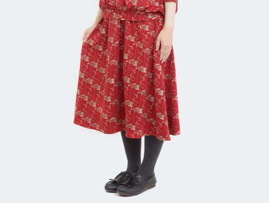 アイテムイメージ、秋物、スカート
