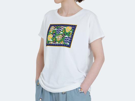 アイテムイメージ、盛夏、Tシャツ