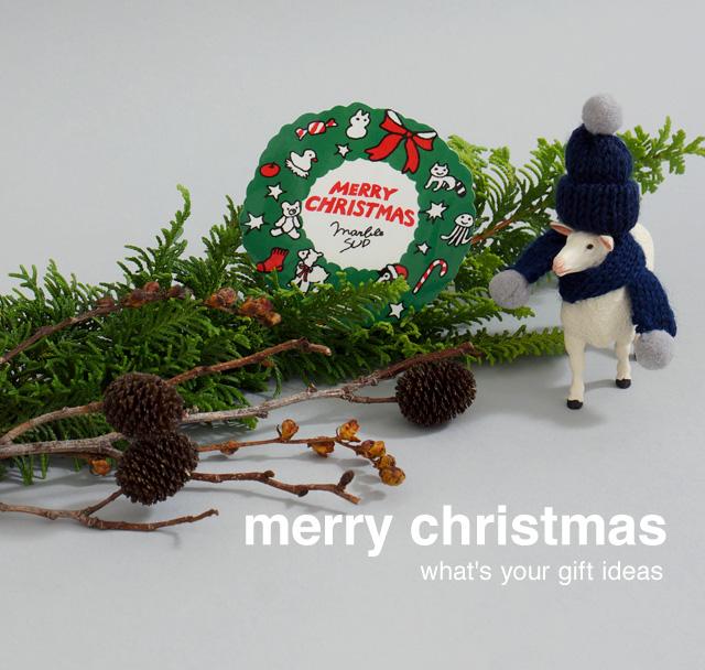 コーポレートサイトイメージ、マーブルシュッド、クリスマス