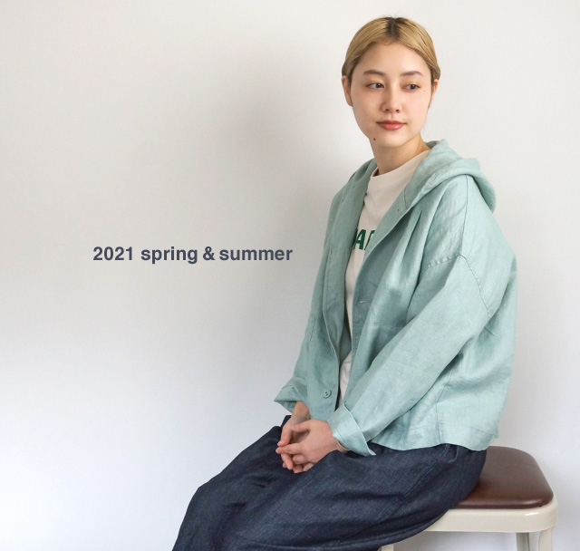 コーポレートサイトイメージ、マーブルシュッド、春のお洋服